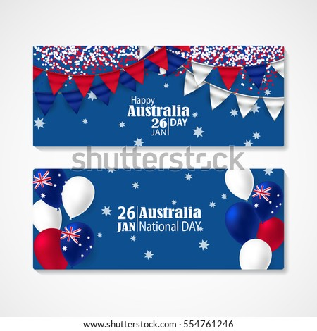 Australia Day Images RoyaltyFree Images Vectors – Australia Day Party Invitations