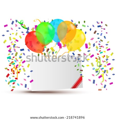 Happy background - stock vector