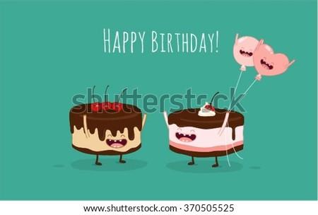 Birthday Cards Cake ~ Greeting card happy birthday cake wallpaper happy birthday cards