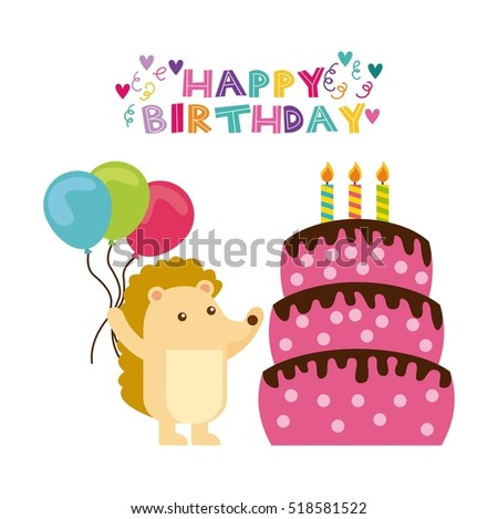 Cake Cartoon Stock Images RoyaltyFree Images  Vectors - Cartoon birthday cake images