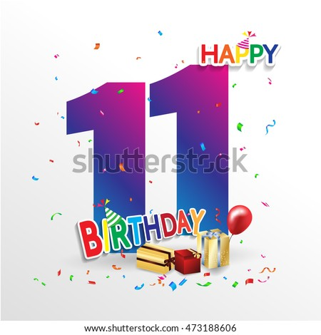 11 Birthday Stock Images Royalty Free Images Amp Vectors