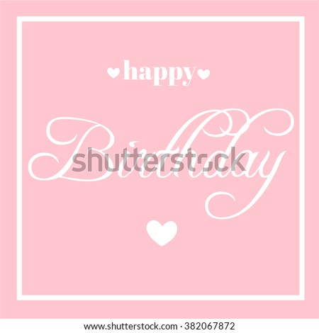 Happy Mothers Day Calligraphy Background Stock Vector 374828899 ...