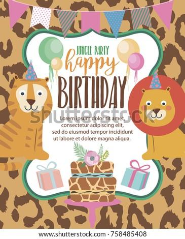 birthday invetation card