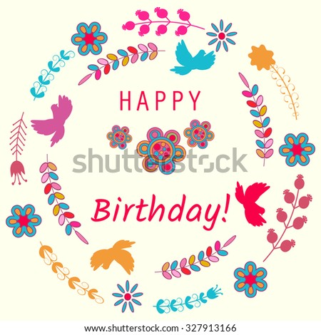 Birthday flowers stock photos images amp pictures shutterstock
