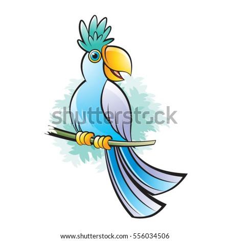 Cute Yellow Bird Singing Stock Vector 342152102 - Shutterstock
