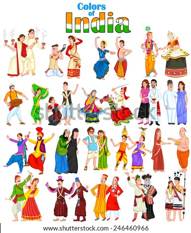 Indian Traditional Dresses Of Different States With Names different states of India