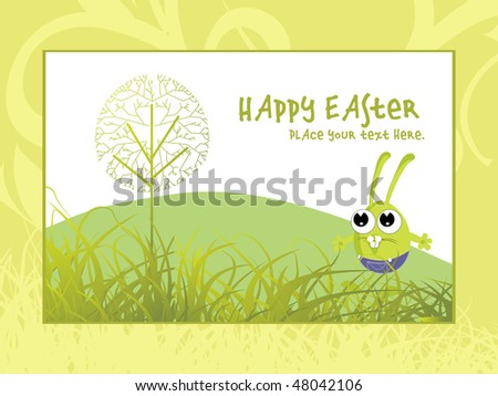 happy easter day wallpaper with seamless background