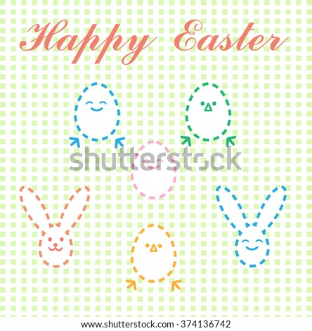 Happy Easter vector picture