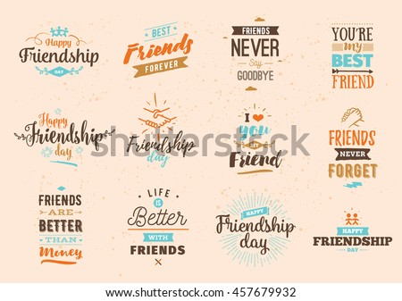 Happy Quotes About Friendship Stunning Friendship Stock Images Royaltyfree Images & Vectors  Shutterstock
