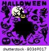 Happy Halloween | Cute vector illustration cartoon comic - stock