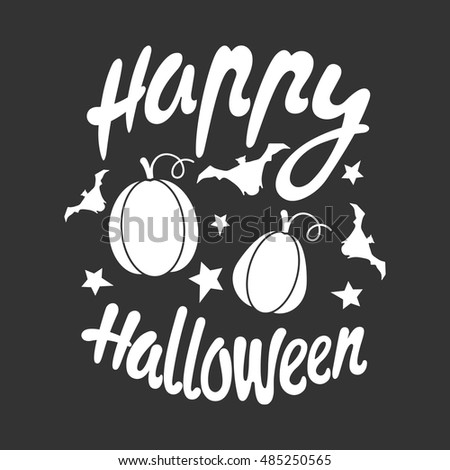 Happy halloween message design background vector stock vector hd happy halloween message design background vector illustration this illustration can be used as a m4hsunfo