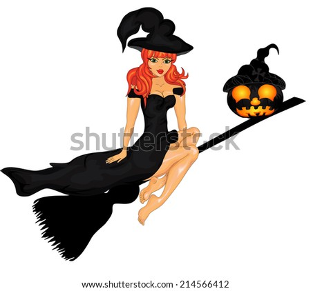 Happy Halloween Poster. Vector illustration.Halloween banner .
