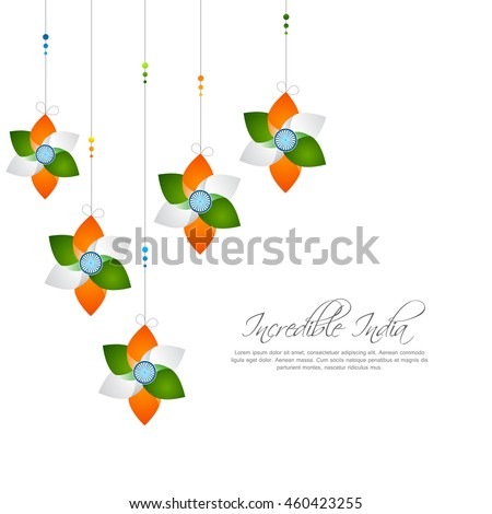 Happy independence day india vector illustration stock for 15th august independence day decoration ideas