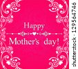 Happy mother day background. Vector  illustration - stock vector
