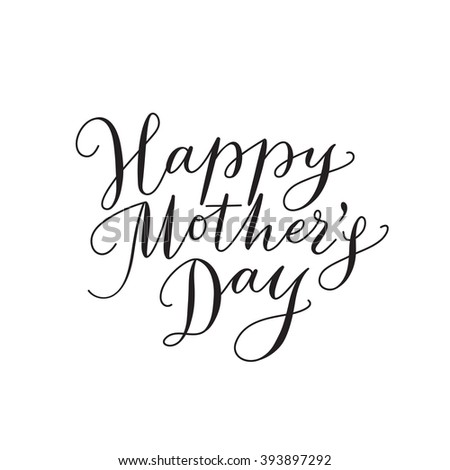 Mothers Day Text Stock Images Royalty Free Images