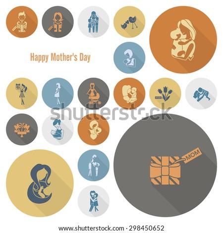 Preschool Icons Stock Vector 144632981 Shutterstock