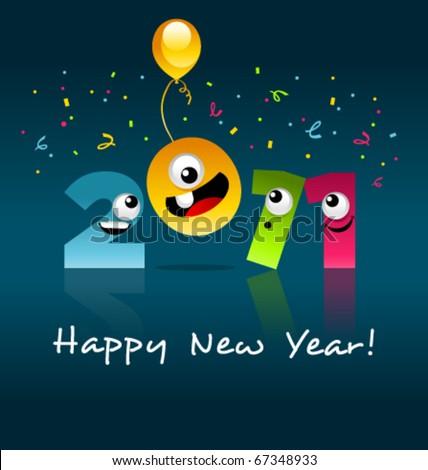 Happy New Year! - stock vector