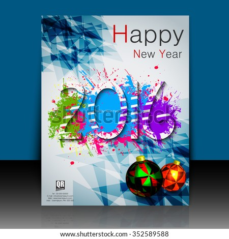 Happy New Year 2016 Colorful Professional Stock Vector. Cv Templates Free Download For Word. Cover Letter Tips Disney. Letter Of Resignation Job Change. Lebenslauf Vorlage Arbeitsamt. Resume Of A Dance Teacher. Cover Letter For General Cleaner. Sample Cover Letter For Law Office Assistant. Lebenslauf Englisch Arzt