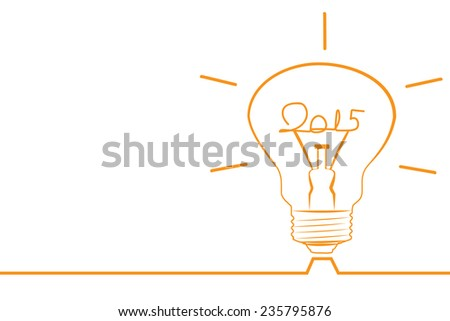 Happy new year 2015 creative greeting card design in flat style with long shadow. Vector illustration
