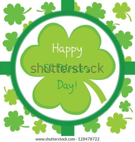 Happy Saint Patrick s Day - stock vector