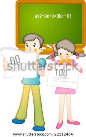 Happy School day - stock vector