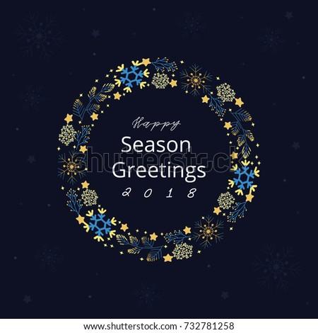 Happy season greetings stock vector 732781258 shutterstock happy season greetings m4hsunfo