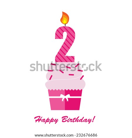 2nd Birthday Images RoyaltyFree Images Vectors – Second Birthday Cards