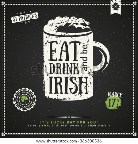 Irish stock images royalty free images vectors for Irish menu templates