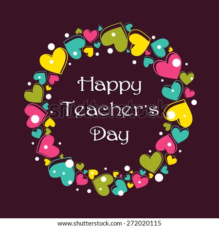 happy teachers day stock vector  royalty free  272020115 flower vector art png flower vector art black and white