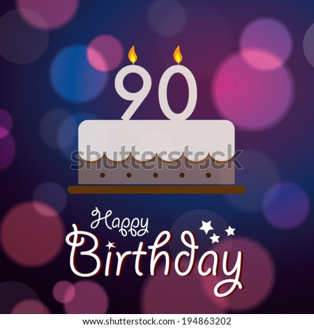 Its A Girl Banner Template 90th birthday Stock Ph...