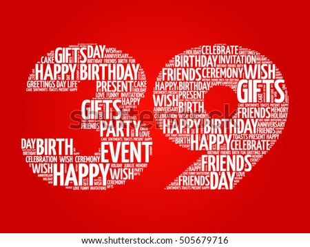 Graphics For Happy 39th Birthday Graphics Www Graphicsbuzz Com Happy 39th Birthday Wishes