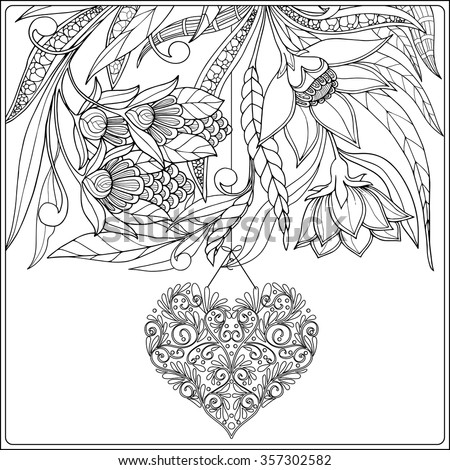 older valentines day coloring pages - photo#14