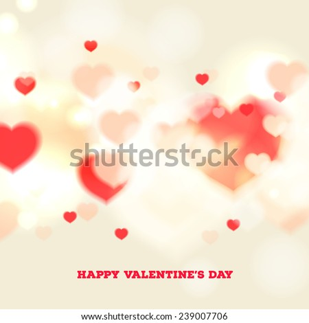 Happy Valentine's Day card with ornaments, hearts . All you need is love. Love will not wait.