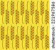 Harvest Background for Autumn. Seamless Pattern. Vector Illustration - stock vector
