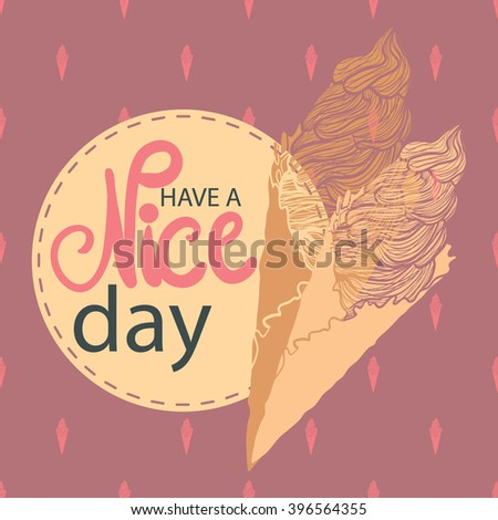 Have nice day greeting card vector stock vector 396564355 shutterstock have a nice day greeting card vector abstract decorative background wallpaper m4hsunfo