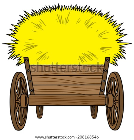 Farm wagon clipart - Clipground |Hayride Wagon Clipart