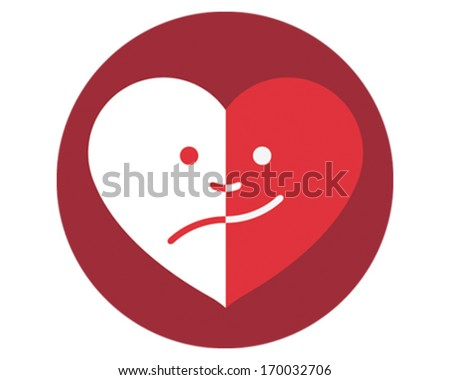 Head Face - stock vector