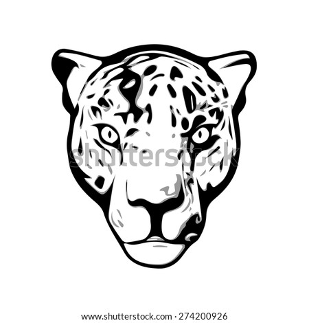 how to draw a jaguar head