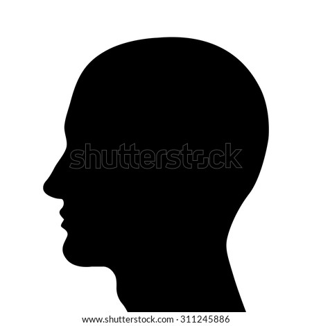 Human Head Outline Vector | www.pixshark.com - Images ...