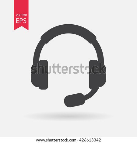 Headset icon, Headset icon vector, Headset icon eps10, Headset icon, Headset icon eps, Headset icon jpg, Headset icon flat, Headset icon app, Headset icon web, Headset icon art, Headset icon vector - stock vector