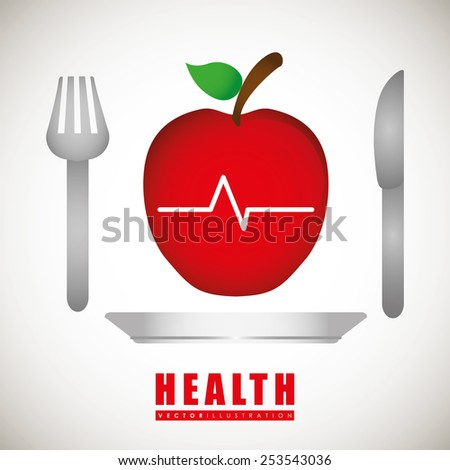 health care design, vector illustration eps10 graphic