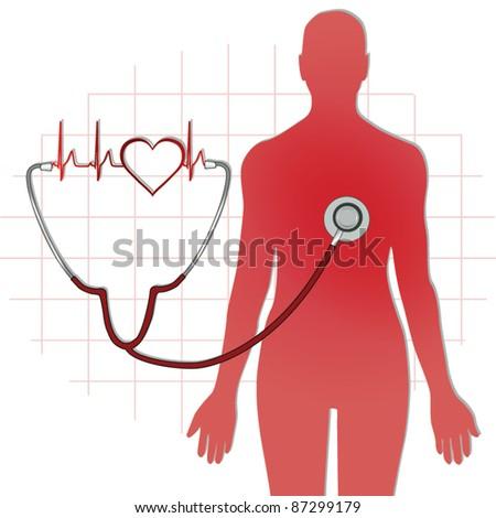 Health care icon vector - stock vector