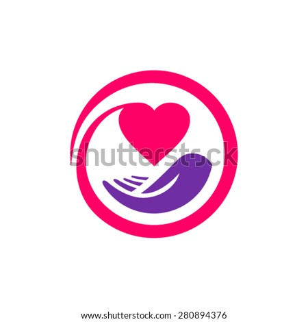 Health protection logotype - stock vector
