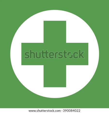 health symbol - stock vector