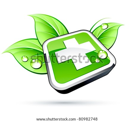 healthcare icon - stock vector