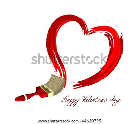 heart design vector - stock vector