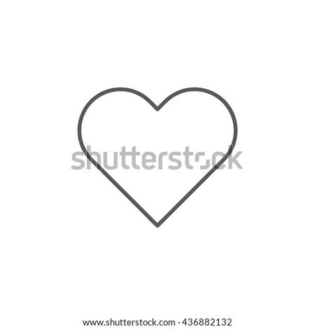 Heart Icon, Heart Icon UI, Heart Icon Vector, Heart Icon Eps, Heart Icon Jpg, Heart Icon Picture, Heart Icon Flat, Heart Icon App, Heart Icon Web, Heart Icon Art, Heart Icon Object, Heart Icon Eps10 - stock vector