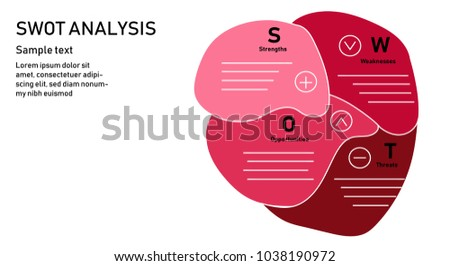 Heart swot analysis business strategy diagram swot stock vector heart of swot analysis business strategy diagramswot analysis marketing templatector illustration design ccuart Image collections