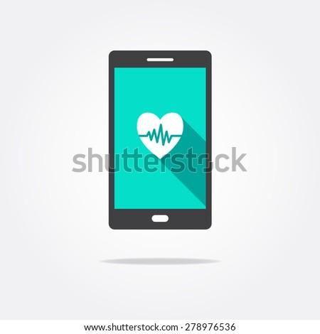 Health App Splash Screen Vector Template Vector 342353870 – Heart Rate Chart Template