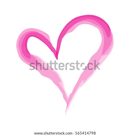 Heart Shape Design Love Symbols Valentines Stock Photo Photo